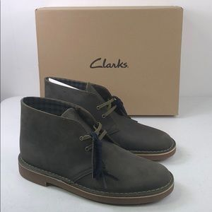 Clark's Bushacre 2 Leather Ankle Chukka Boots